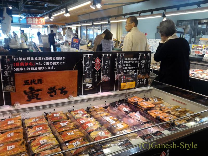 新潟市内中心部近くにあるおみやげを買うのに便利なピアBandai