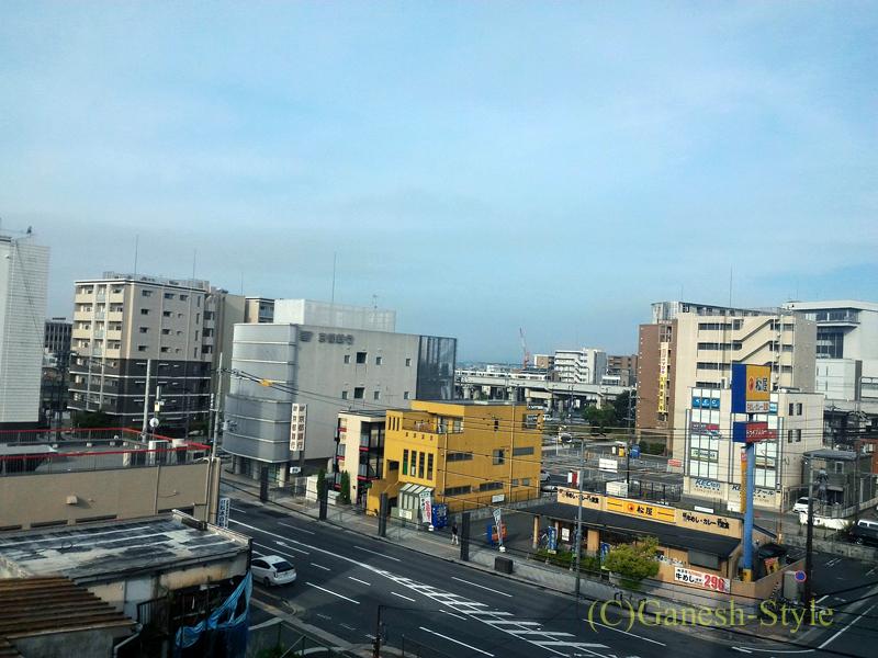 JR奈良駅前にあるコンフォートホテル奈良の客室からの眺め