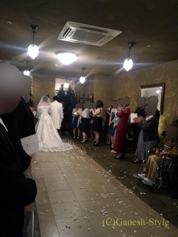 東京のセレス高田馬場での結婚式の新郎新婦