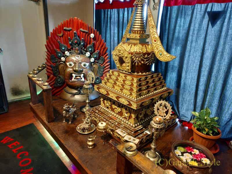 東京の大塚にあるネパール料理レストラン「カスタマンダップ」