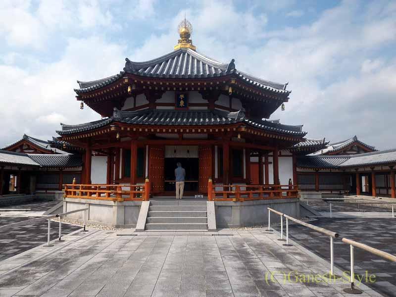 奈良旅行で最大の見どころのひとつ、薬師寺の玄奘三蔵院