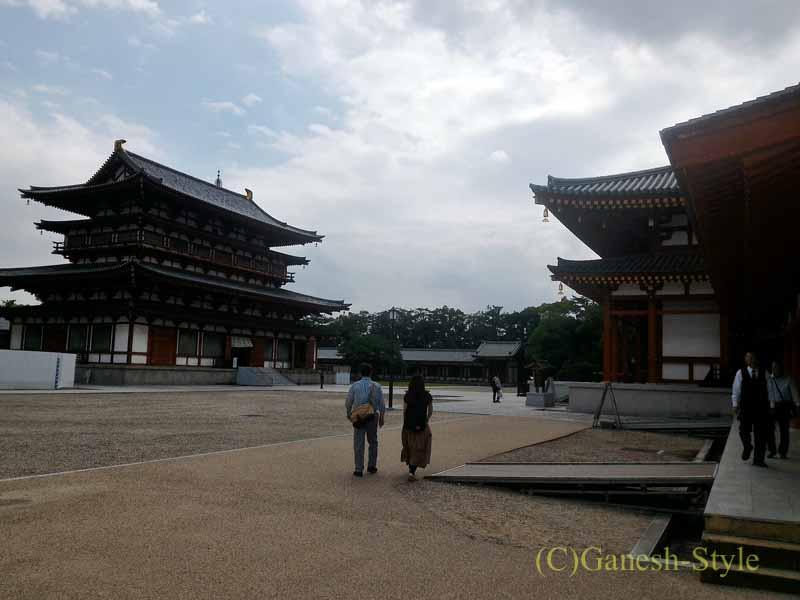 奈良旅行で最大の見どころのひとつ、薬師寺
