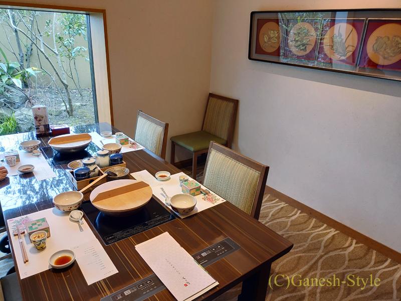 湯葉豆腐料理レストランの梅の花越谷レイクタウン店の個室