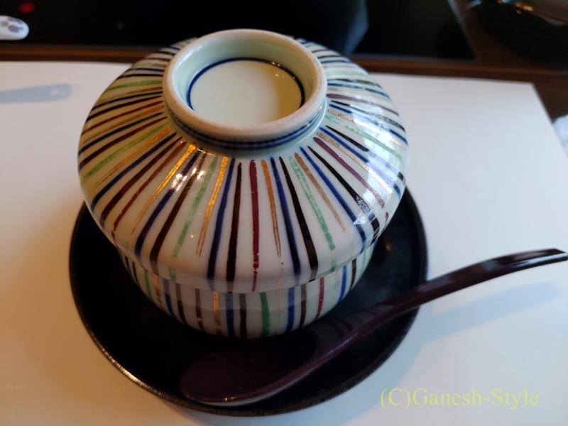 梅の花越谷レイクタウン店で出た茶碗蒸しの器