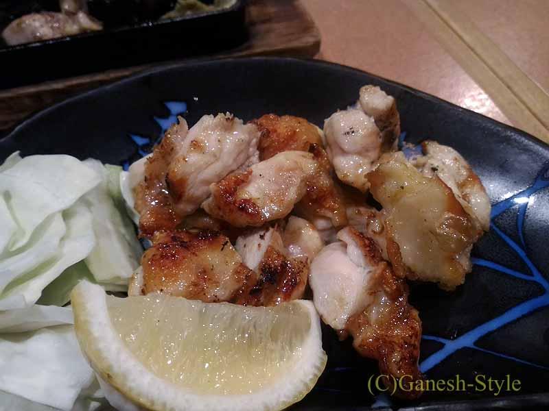 奈良にある大和肉鶏を堪能できる居酒屋やたがらすの大和肉鶏みすじ塩焼き