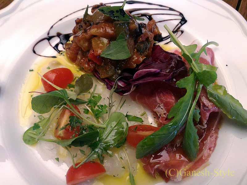 西麻布のイタリア料理レストラン、エンゾパステリアで出たメインディッシュ