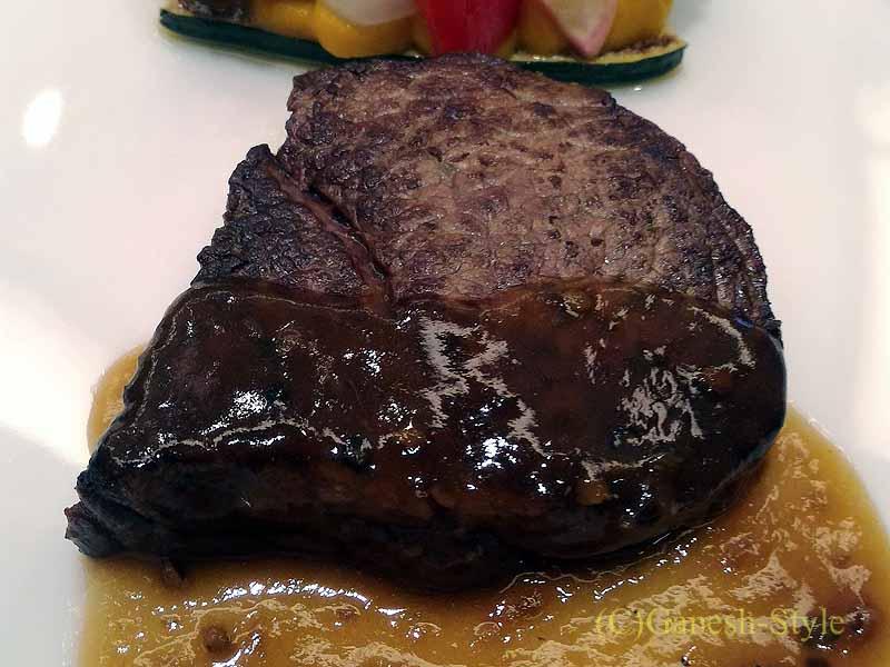 ホテルニューオータニ幕張でのお祝い宴会で出たフランス料理