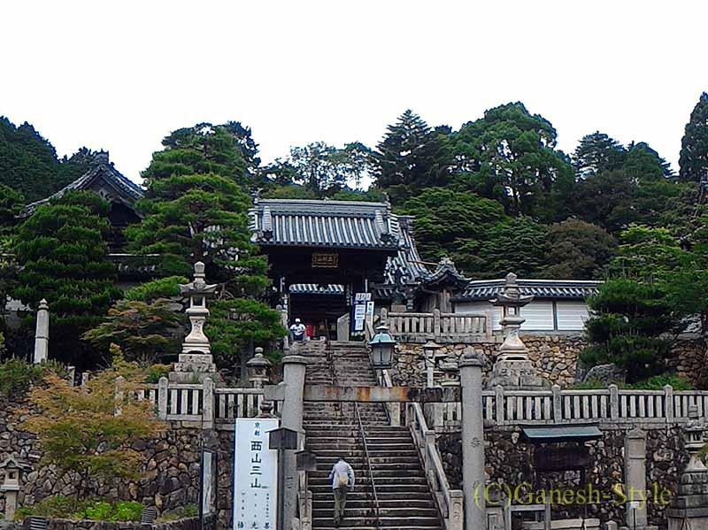 長岡京市にある眼病平癒祈願所として有名な名刹、柳谷観音