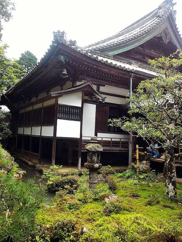 長岡京市にある名刹、柳谷観音(楊谷寺)の奥の院