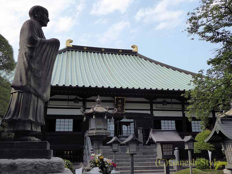 埼玉県川口安行にある桜で有名な古刹、密蔵院