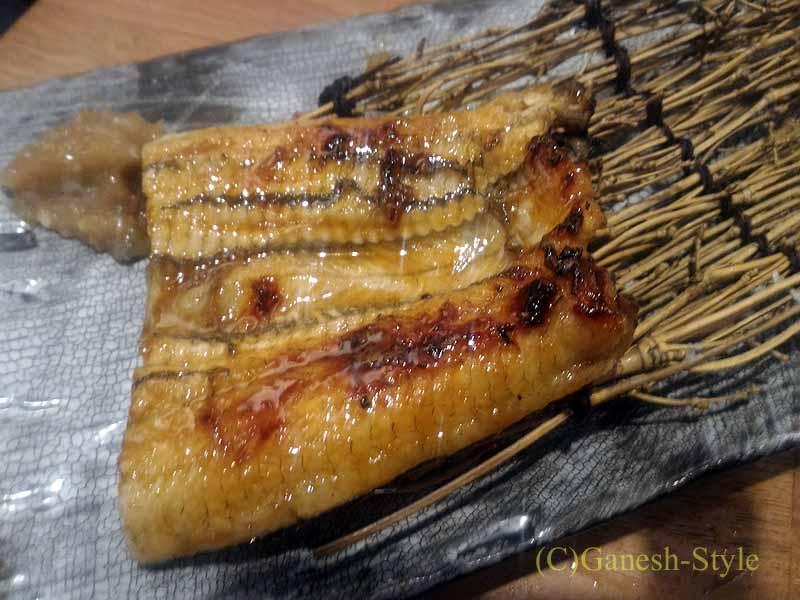 東京・大塚にあるうなぎ料理居酒屋「大塚 う福」のう福焼き(黒)