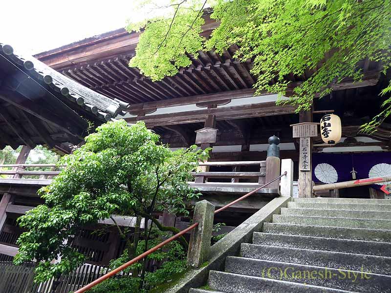 滋賀県大津市にある真言宗大本山の名刹、石山寺の本堂概観