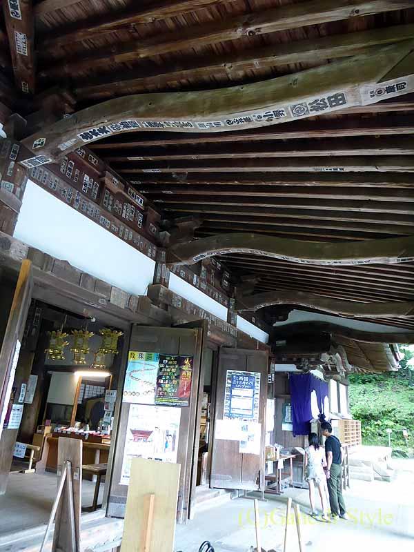 滋賀県大津市にある真言宗大本山の名刹、石山寺の本堂正面