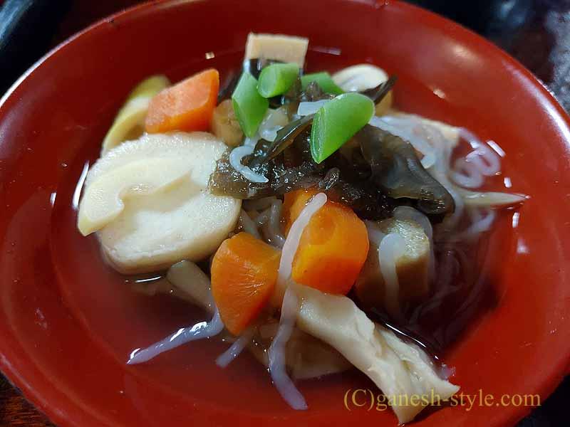 福島県北会津の宮古にある絶品の蕎麦店、かわまえののっぺ