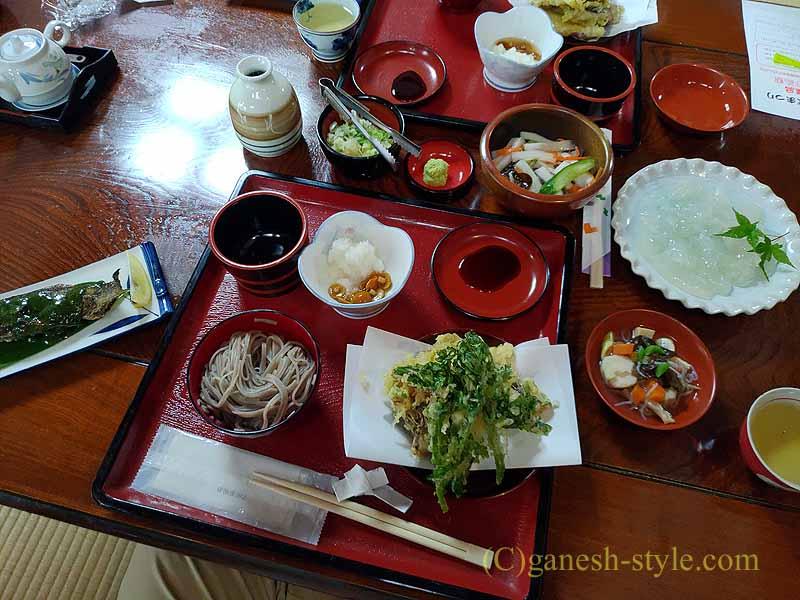 福島県北会津の宮古にある絶品の蕎麦店、かわまえ
