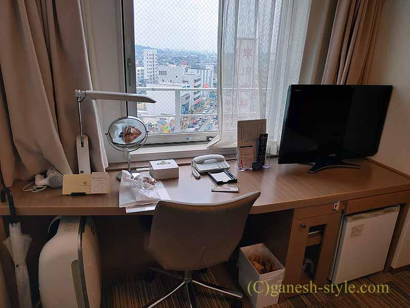 大阪にあるダイワロイネットホテル堺東のデスク